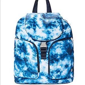Lululemon onward rucksack backpack NWT tie dye